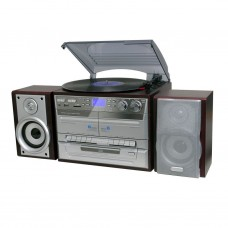 Lenoxx Australia CD High Fi System with Turntable and Dual Cassette