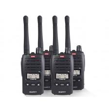 GME TX675 Quad Pack 2W UHF CB Handheld Radio
